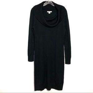 Pendleton Black Cowl Sweaterdress Sz M B-11